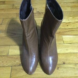 Aerosoles Brown Ankle Boots